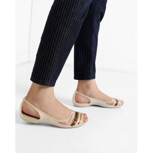b2543ebecb347 Buy CROCS Isabella Huarache 2 Flat Sandals online