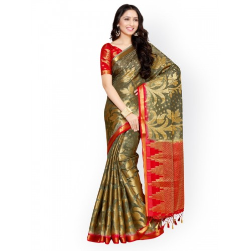 578bdc31c93d3e ... Mimosa Women s Art Silk Saree With Blouse Piece (4053-247-2D-Pgrey ...