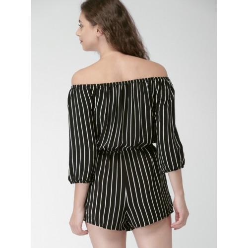 871ac0d7268 Buy Forever 21 Striped Women s Jumpsuit online
