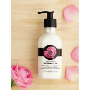 The Body Shop British Rose Body Lotion,250 ML
