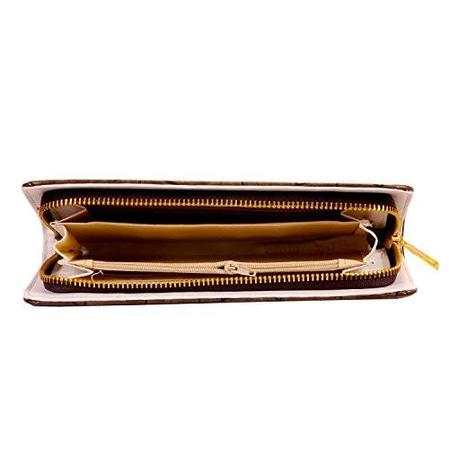 Bagaholics Ladies Wallet Clutch Money Purse with Card Slots for Women (Brown)