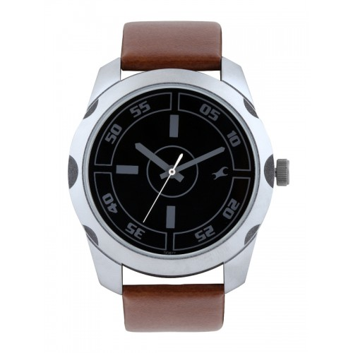 Fastrack Casual Analog Black Dial Watch