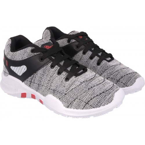 Birdy Men's Red Nitro Series Mesh Running Stylish Sports Outdoor Shoes
