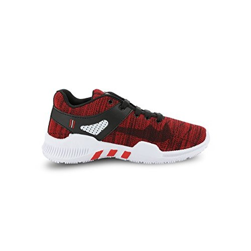 Azotic Men's red Sports Running Shoes