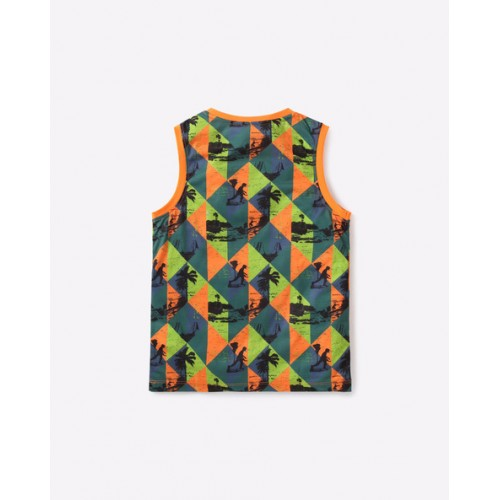 POINT COVE Printed Tank Top