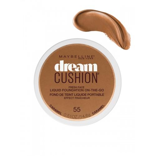 Maybelline New York Dream Cushion Caramel Fresh Face Liquid Foundation 14gm