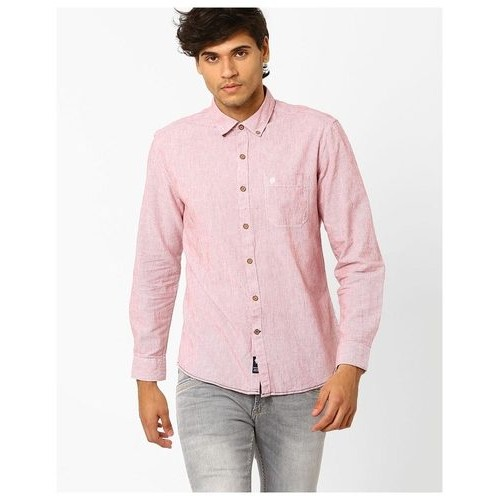 cb791cacb Buy NETPLAY by Reliance Trends Men Red Regular Casual shirts online ...