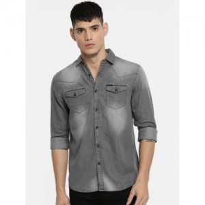 8c26f92ed60ab Buy latest Men s Denim Shirts from Being Human online in India - Top ...