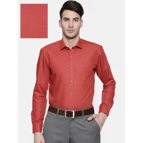 935aa325a Buy RG DESIGNERS Men Red Slim Fit Solid Formal Shirt online ...