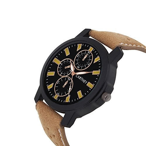 Cartney Analog Black dial Men's Watch (CTYM14)