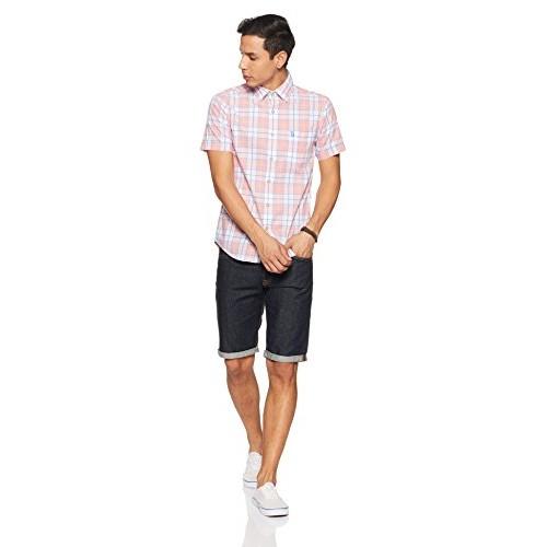 US Polo Association Men's Printed Slim Fit Casual Shirt
