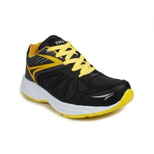 Tennis Black Yellow Sports shoes