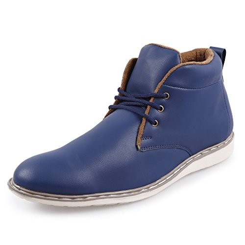 Andrew Scott Men's Synthetic Blue Casual Shoes