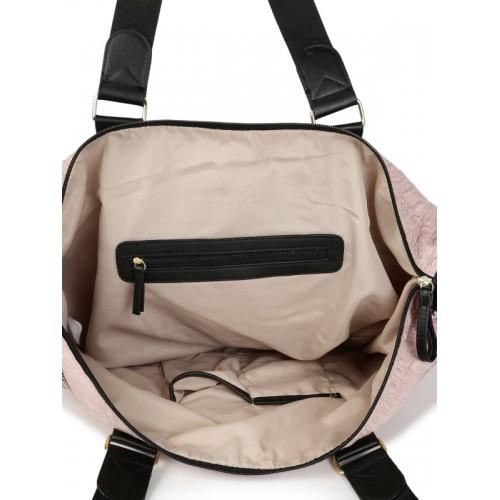 8a81df3bf586 Buy Steve Madden Pink Textured Shoulder Bag online