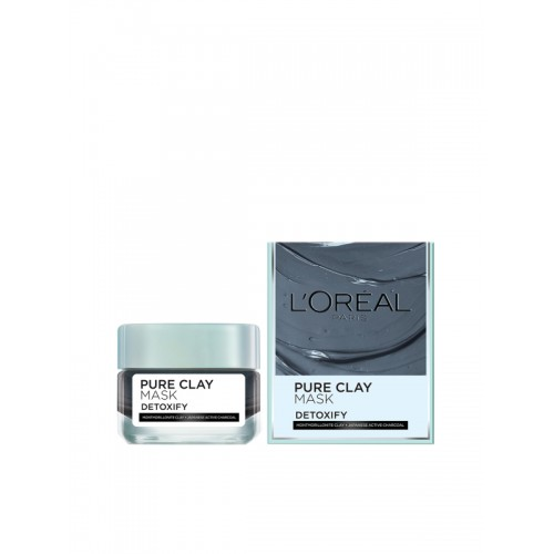 Loreal Paris PURE-CLAY Detox & Brighten Charcoal Face Mask
