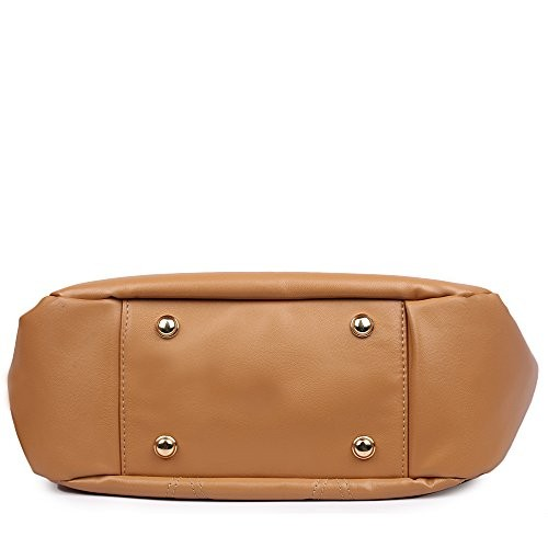 Women Marks Brown Polyurethane Solid Sling Bag