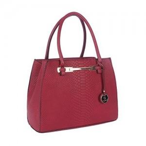Fur Jaden Women S Handbag Red H213 Maroon
