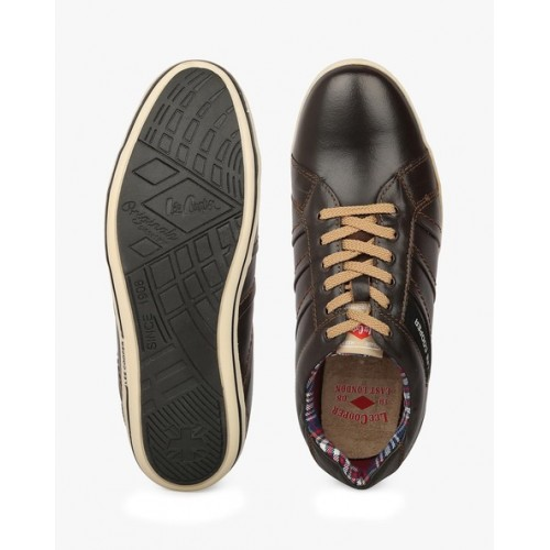 55e2c7d2d507 Buy Lee Cooper Genuine Leather Panelled Casual Shoes online ...