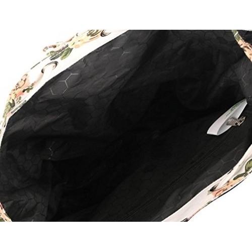 174b80dd44 Buy Crafts My Dream Women s Beige Floral Print Backpack online ...
