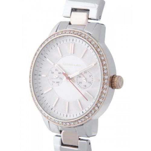 GIORDANO Women Silver-Toned Analogue Watch 2881-66