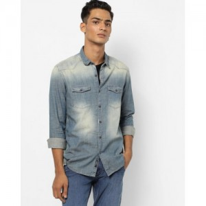 9156d85bcb 10 Best Denim Shirt Brands Every Man Should Follow - LooksGud.in
