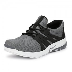 Fucasso Men's Fine Quality and Comfortable Grey Sports Shoes