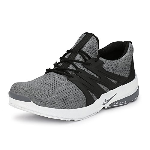 239d5c467d6092 Buy Fucasso Men s Fine Quality and Comfortable Grey Sports Shoes ...