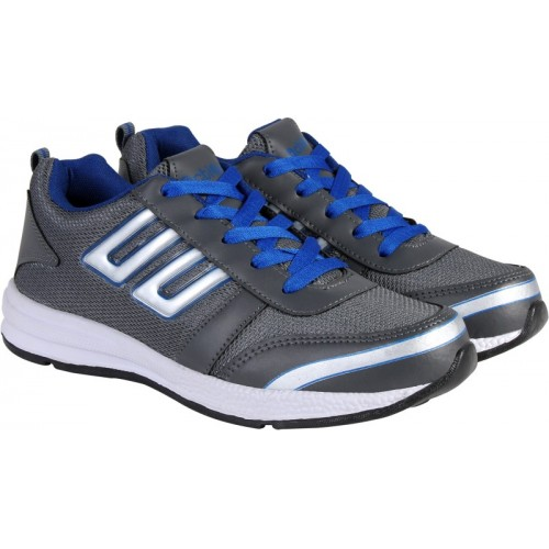Action Synergy Men's 7147 Grey Royal Blue Sports Running Shoes For Men(Grey, Blue)