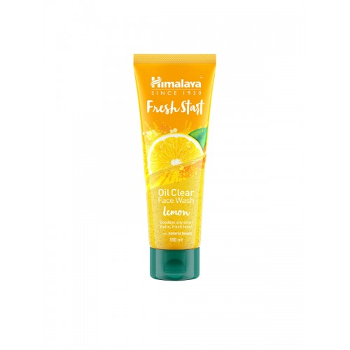 Himalaya Unisex Fresh Start Oil Clear lemon Face Wash 100 ml
