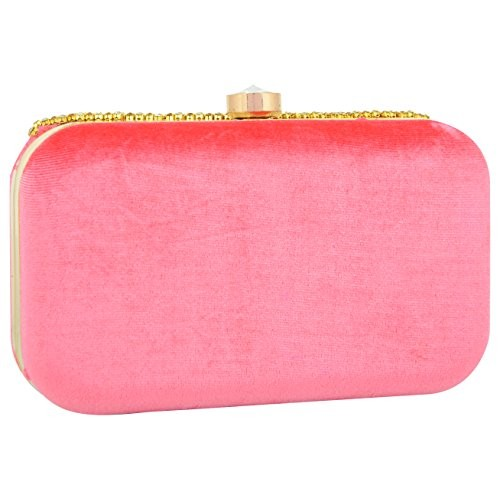Tooba Pink Handcrafted PVL6 Women's Potli