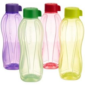 Tupperware B1L 1 ml Bottle(Pack of 4, Multicolor)