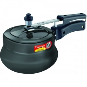 Prestige Black Stainless Steel Nakshatra Plus HA Handi 2 L Pressure Cooker
