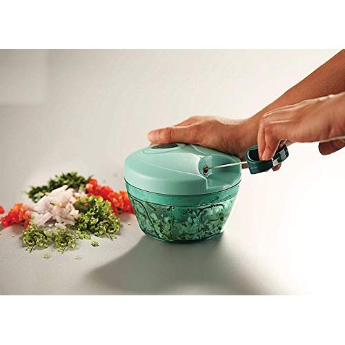 Pigeon Green New Handy Plastic Chopper with 3 Blades