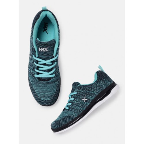 HRX by Hrithik Roshan Blue Running Shoes