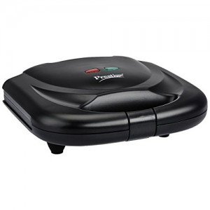 Prestige PSMFB (800 Watt) Sandwich Toaster with Fixed Plates,Black