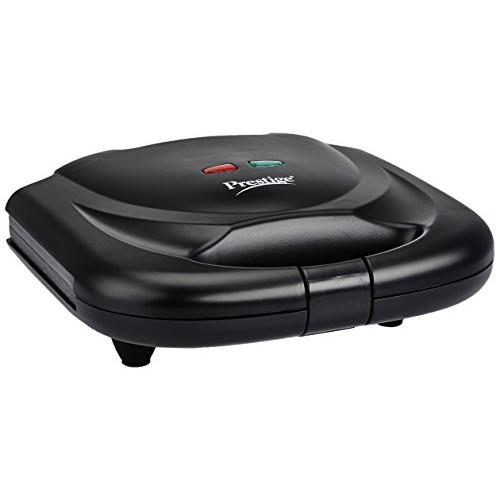 Prestige PSMFB (800 Watt) Sandwich Toaster with Fixed Plates,Black
