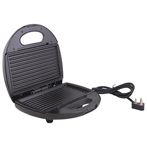 Morphy Richards SM3006 Toast, Waffle and Grill,Silver and Black