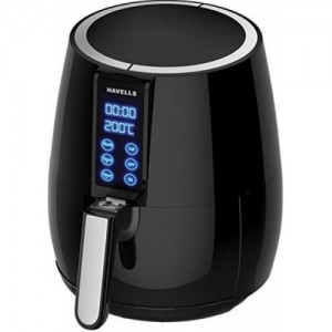 Havells Prolife Digi Air Fryer- 4 litres - 1230 Watts - One Bryto 3W LED Bulb Free - 2 Years Product Warranty