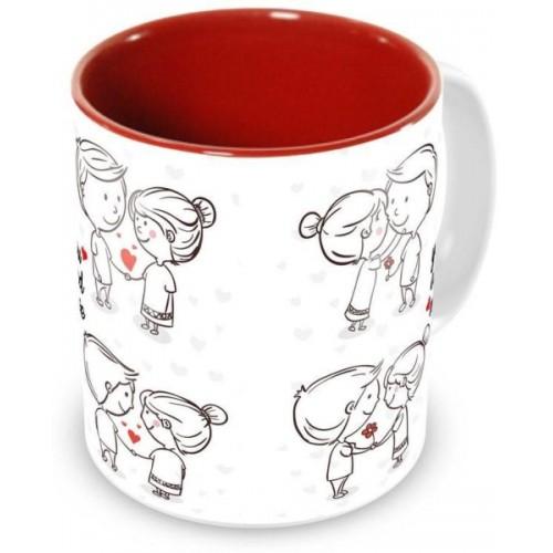 Tuelip Printed Beautiful Quotes For Couple You And Me Ceramic Ceramic Mug