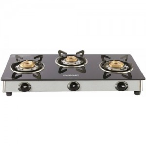 Eveready TGC 3B RV Brass, Glass, Stainless Steel Manual Gas Stove