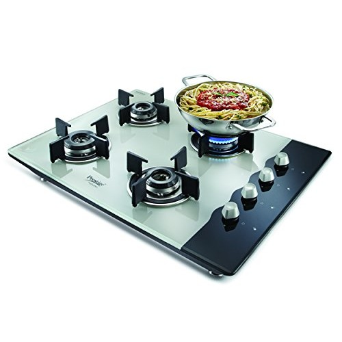 Prestige Hob Top Glass Automatic Gas Stove