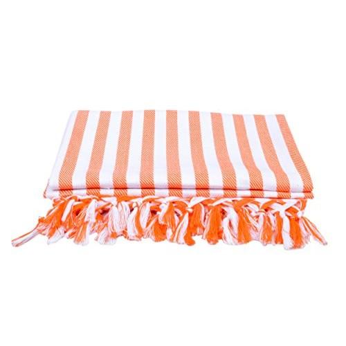 Sathiyas Cotton Bath Towel Pack of 4 (Blue, Lavender, Pink, Orange)