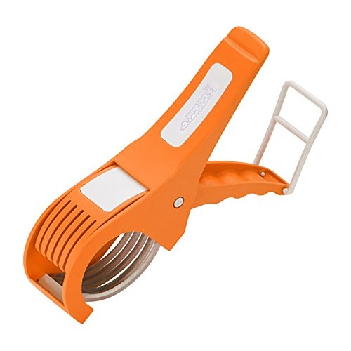 Amiraj Plastic Vegetable Cutter, White/Orange