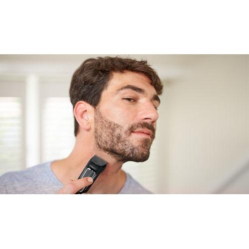Philips MG3730 8 in 1 Multi-Grooming Cordless Kit for Men (Black)