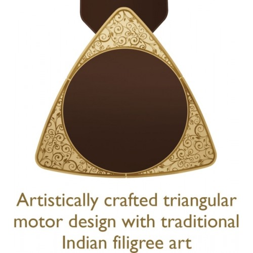 Luminous 1200MM Jaipur Bandhej 3 Blade Ceiling Fan