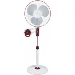 Havells Sprint LED 3 Blade Pedestal Fan(Wine Red)