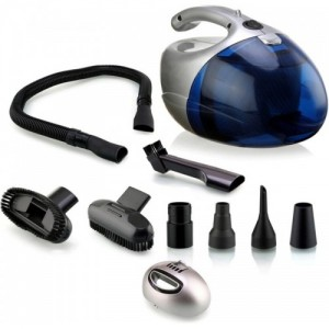 Nova NVC-2765 Dry Vacuum Cleaner (Blue, Silver)