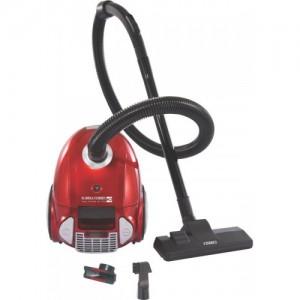 Eureka Forbes Trendy Zip + Dry Vacuum Cleaner(Red, Silver)