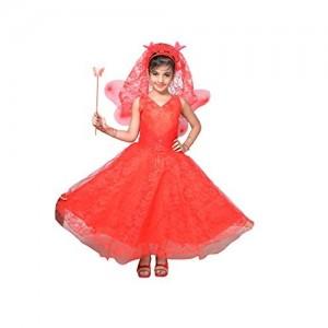 Ahhaaaa Cotton A-Line Party Wear Pari Dress
