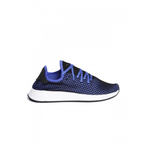 a9bcda035a4b72 Buy Adidas Originals Men Blue   Black DEERUPT Runner Sneakers online ...